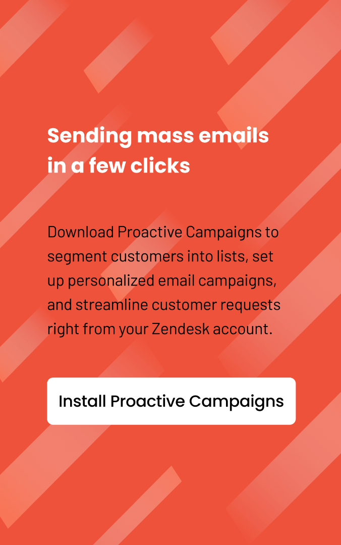 Sending mass emails in a few clicks