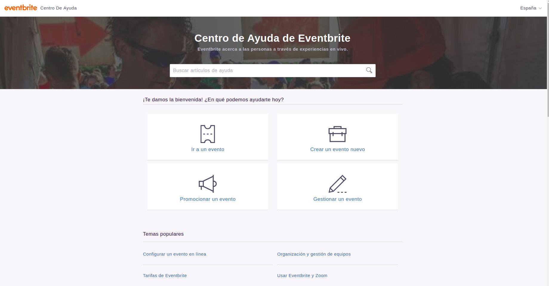 Eventbrite help center