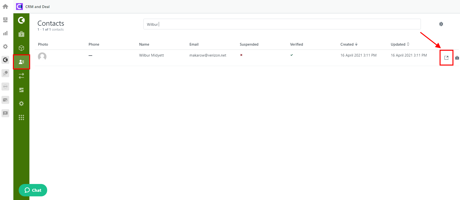 CRM And Deals For Zendesk Contact User Page