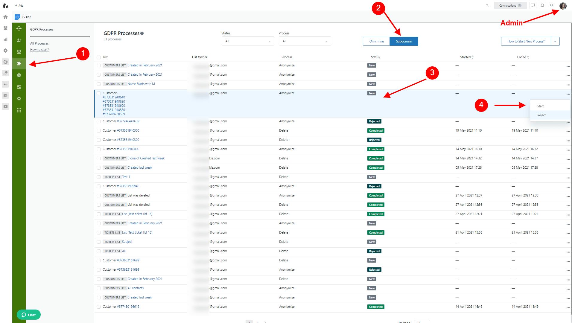 GDPR Compliance For Zendesk Admin