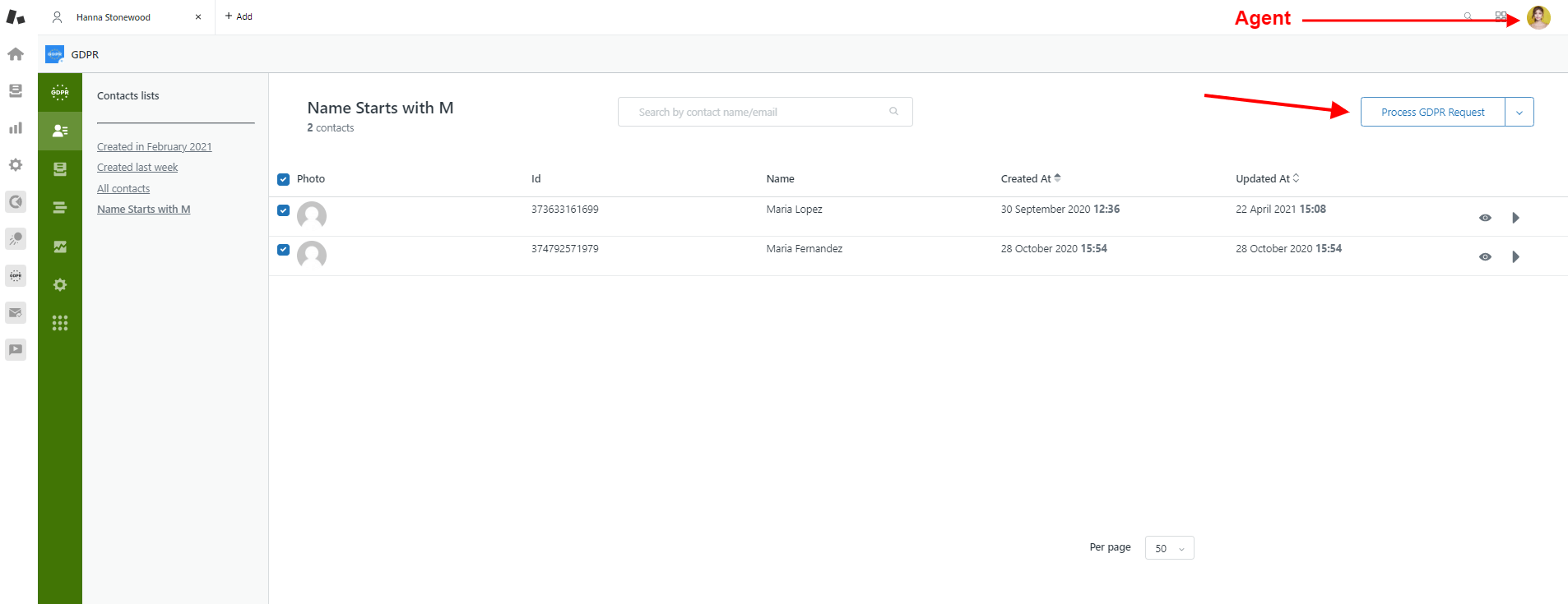 GDPR Compliance For Zendesk Agent