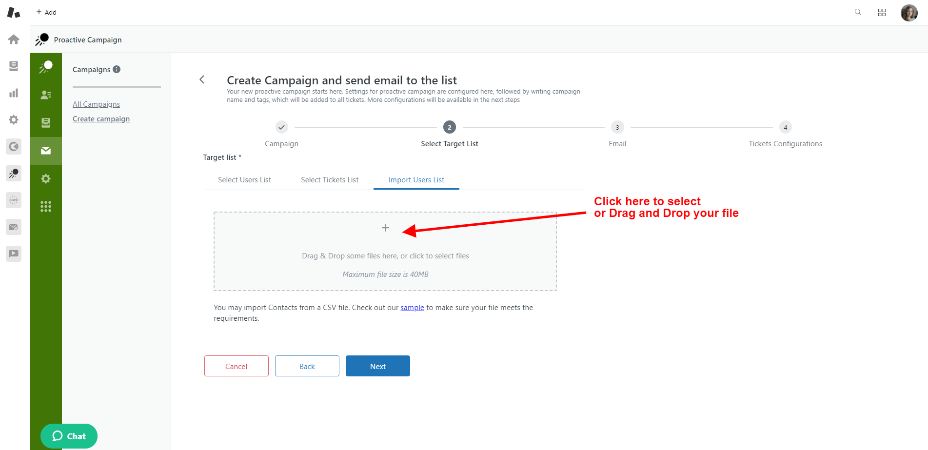 Proactive Campaigns For Zendesk Drag Drop
