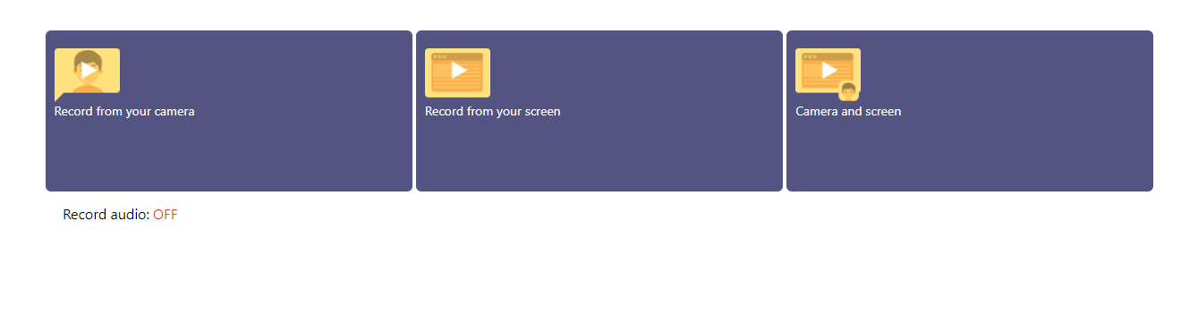 Video Reply Screen